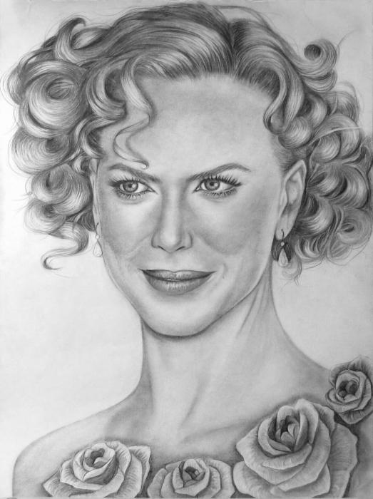 Nicole Kidman by whitelily
